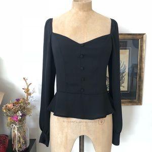 Express Peplum blouse
